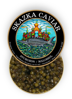 Golden Kaluga Sturgeon Caviar